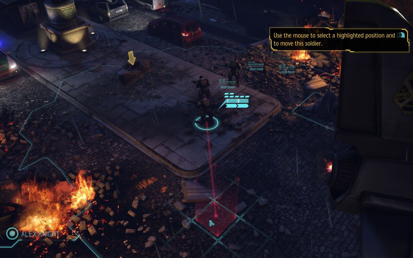 XCOM: Enemy Unknown Windows Game start