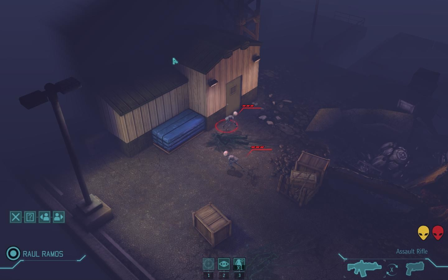 XCOM: Enemy Unknown Windows Enemy spotted but they are taking cover