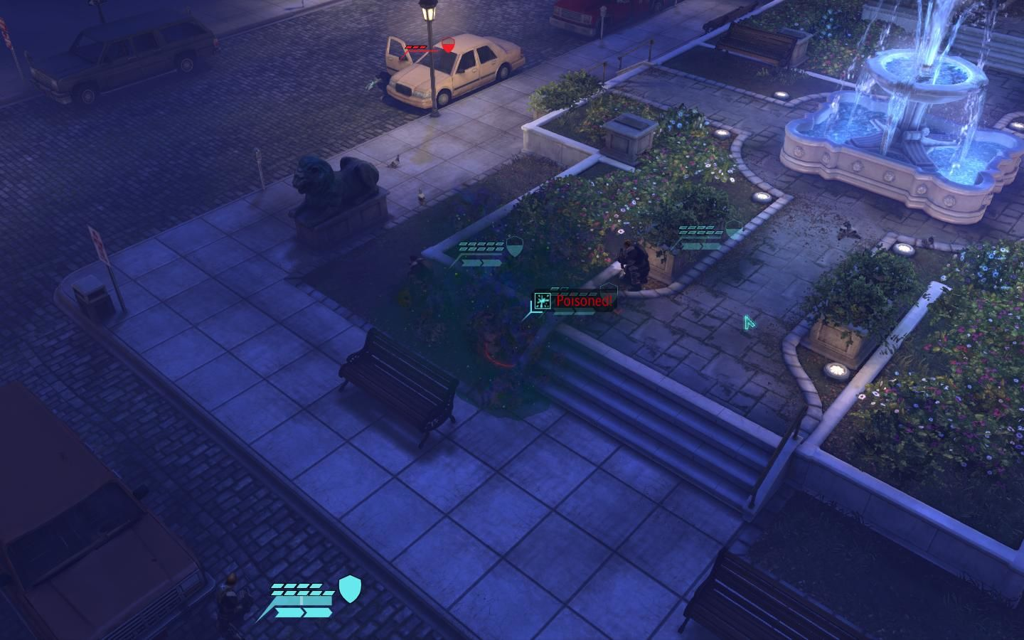 XCOM: Enemy Unknown Windows Moving squad into position to take down the Thin Men