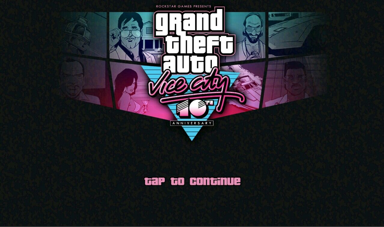 Grand Theft Auto: Vice City iPad Tap Screen - Grand Theft Auto: Vice City is 10 years old 2002-2012 and now released on more devices. Touch Screen Controlled.