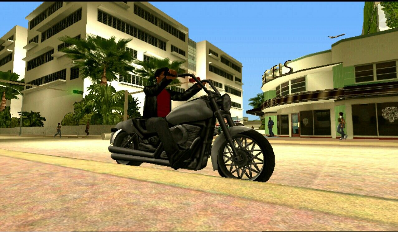 Grand Theft Auto: Vice City iPad Nice Bike