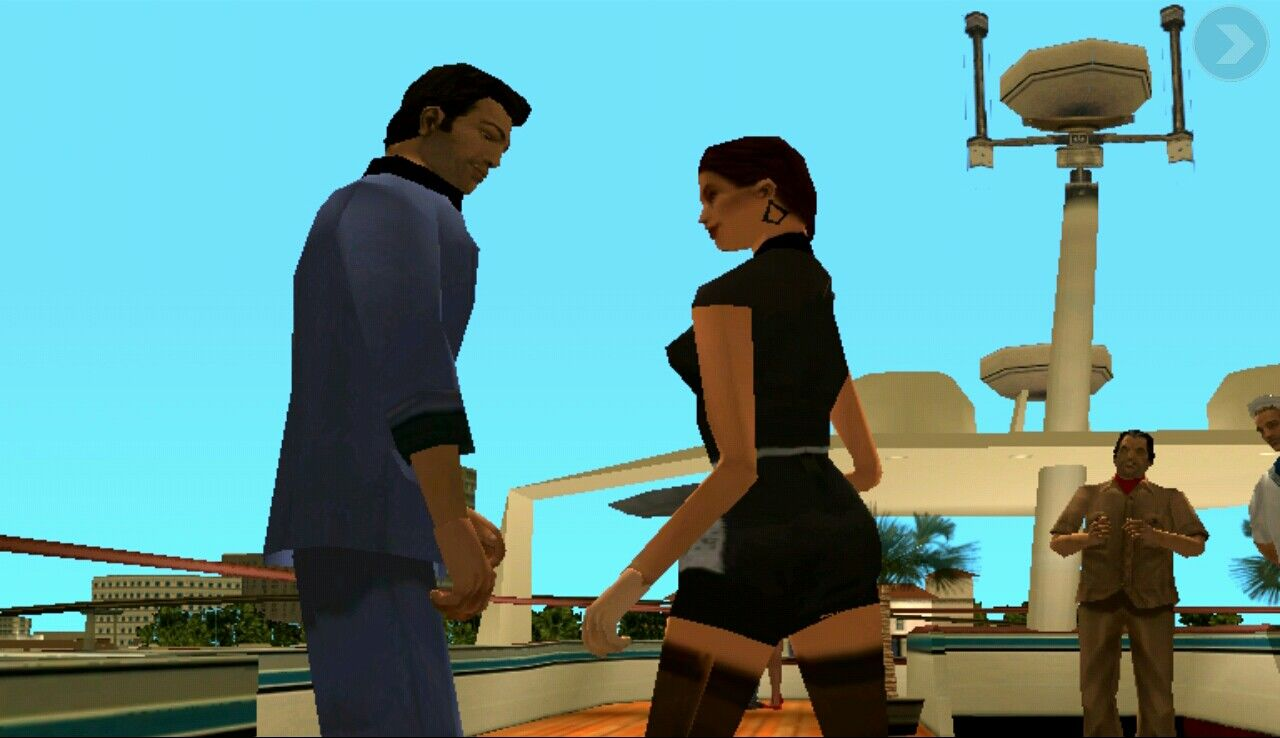 Grand Theft Auto: Vice City iPad In depth cutscenes and storyline