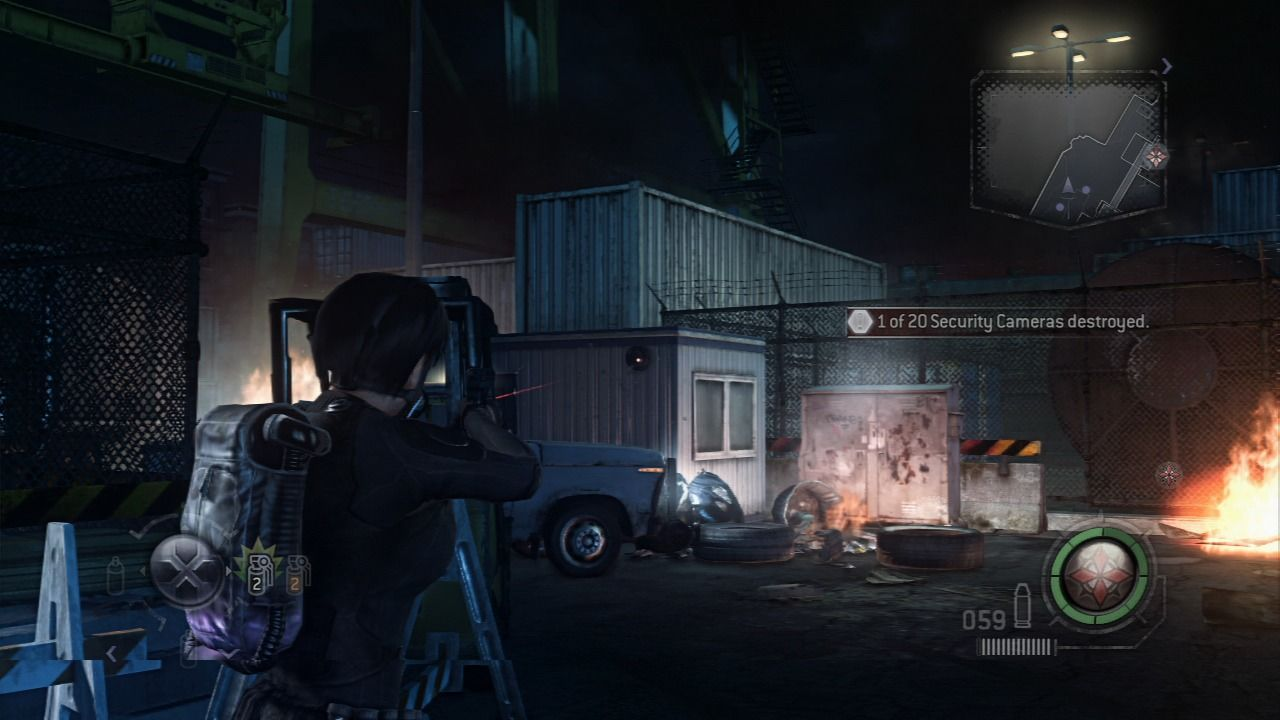Resident Evil Operation Raccoon City Screenshots For Playstation