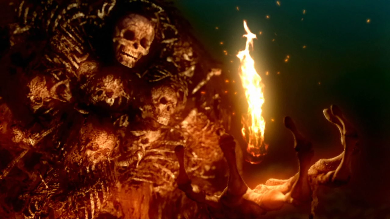 Dark Souls: Prepare to Die Edition Windows Intro: Gravelord Nito, the First of the Dead, one of the original four lords that fought against the dragons