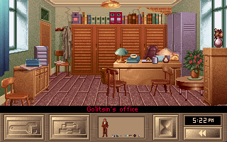 KGB DOS Golitisin's office