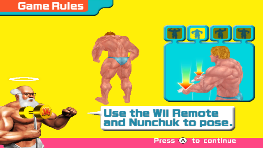 Muscle March Screenshots For Wii Mobygames