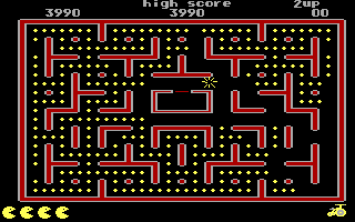 Jr. Pac-Man DOS Oops! Killed! (EGA)