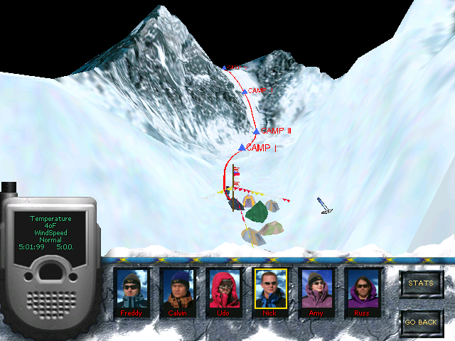Everest Windows Overview of your route