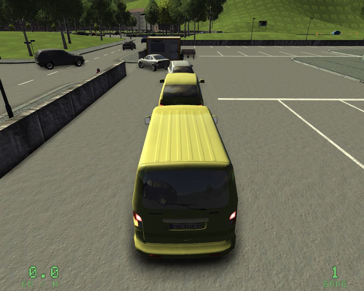 Driving Simulator 2009 Screenshots For Windows Mobygames