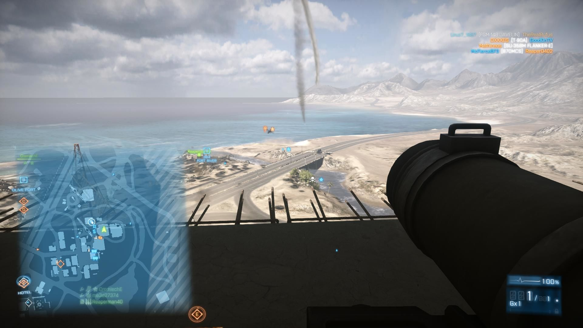 Battlefield 3: Back to Karkand Windows High atop construction waiting for the chopper to get in range of the Javelin