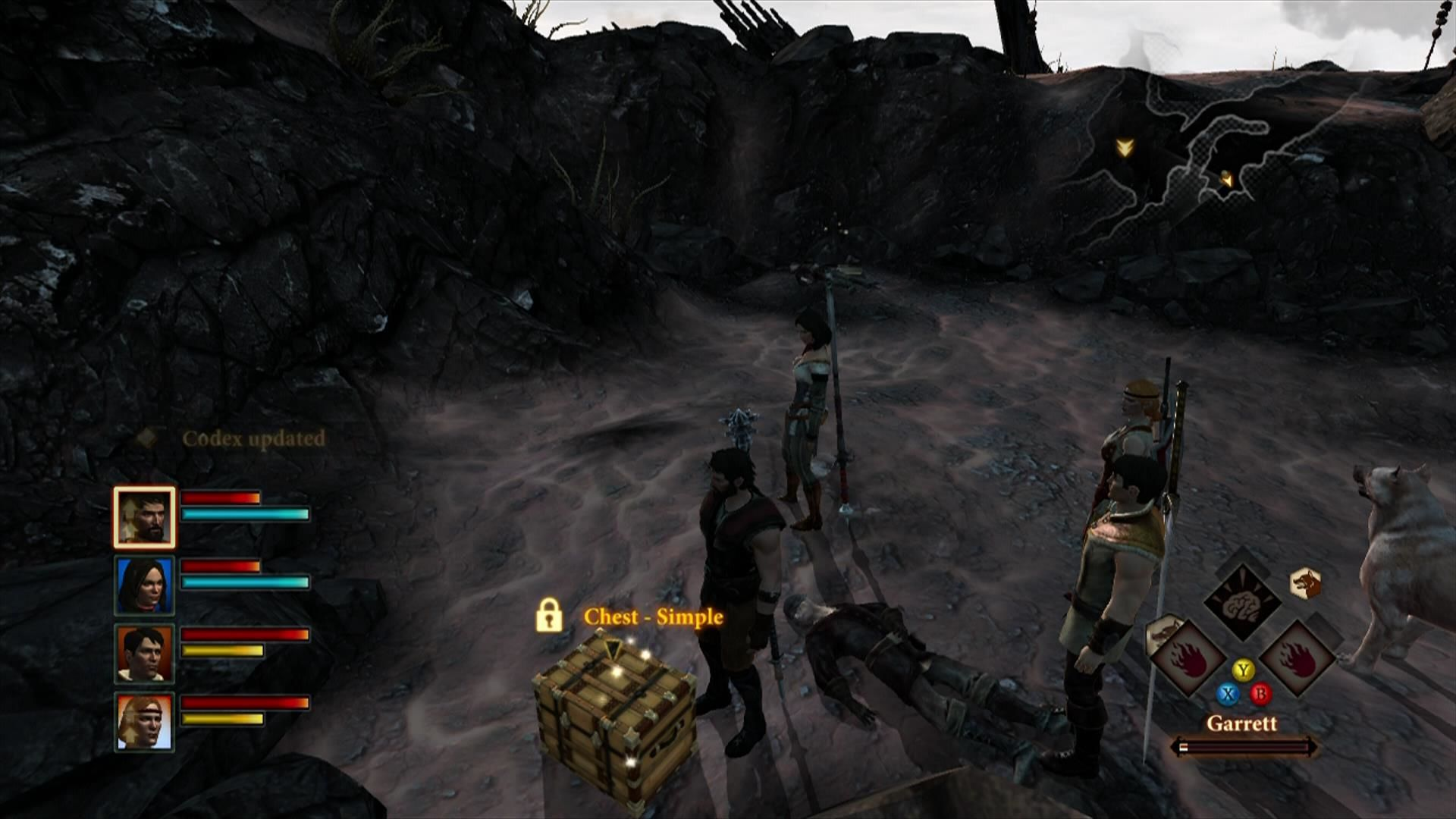 Dragon Age II Xbox 360 Some chests are locked and need to be picked by thieves