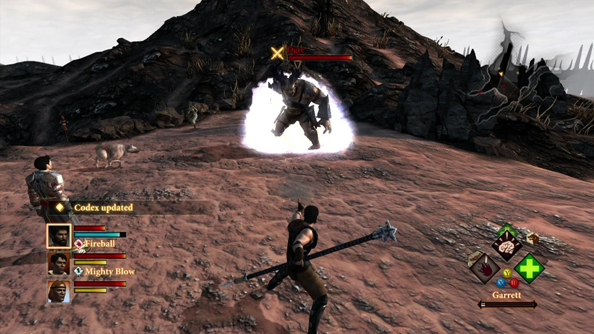 Dragon Age II Xbox 360 An ogre, your first dangerous enemy