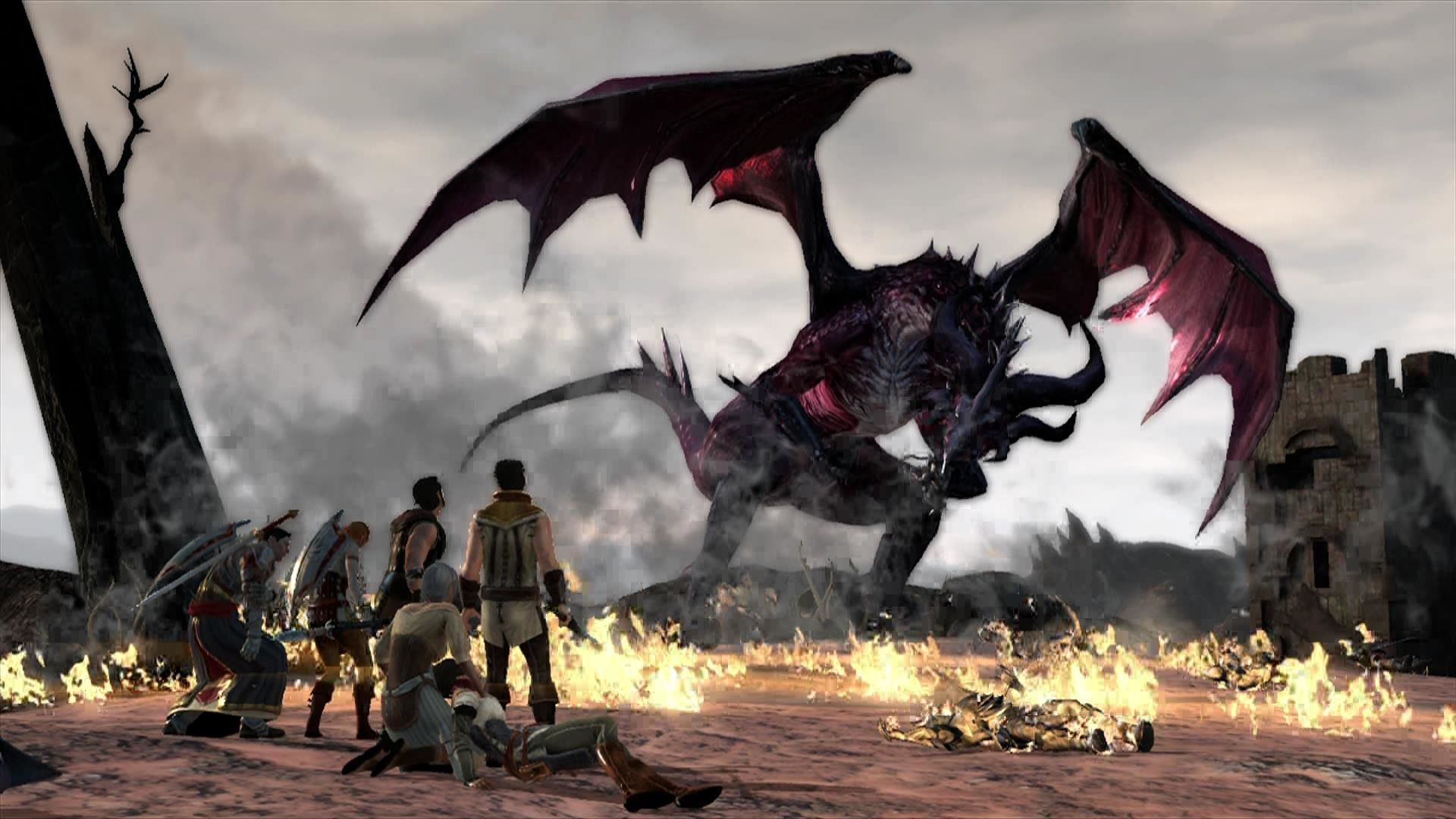 Dragon Age II Xbox 360 Dragon age features .... dragons!