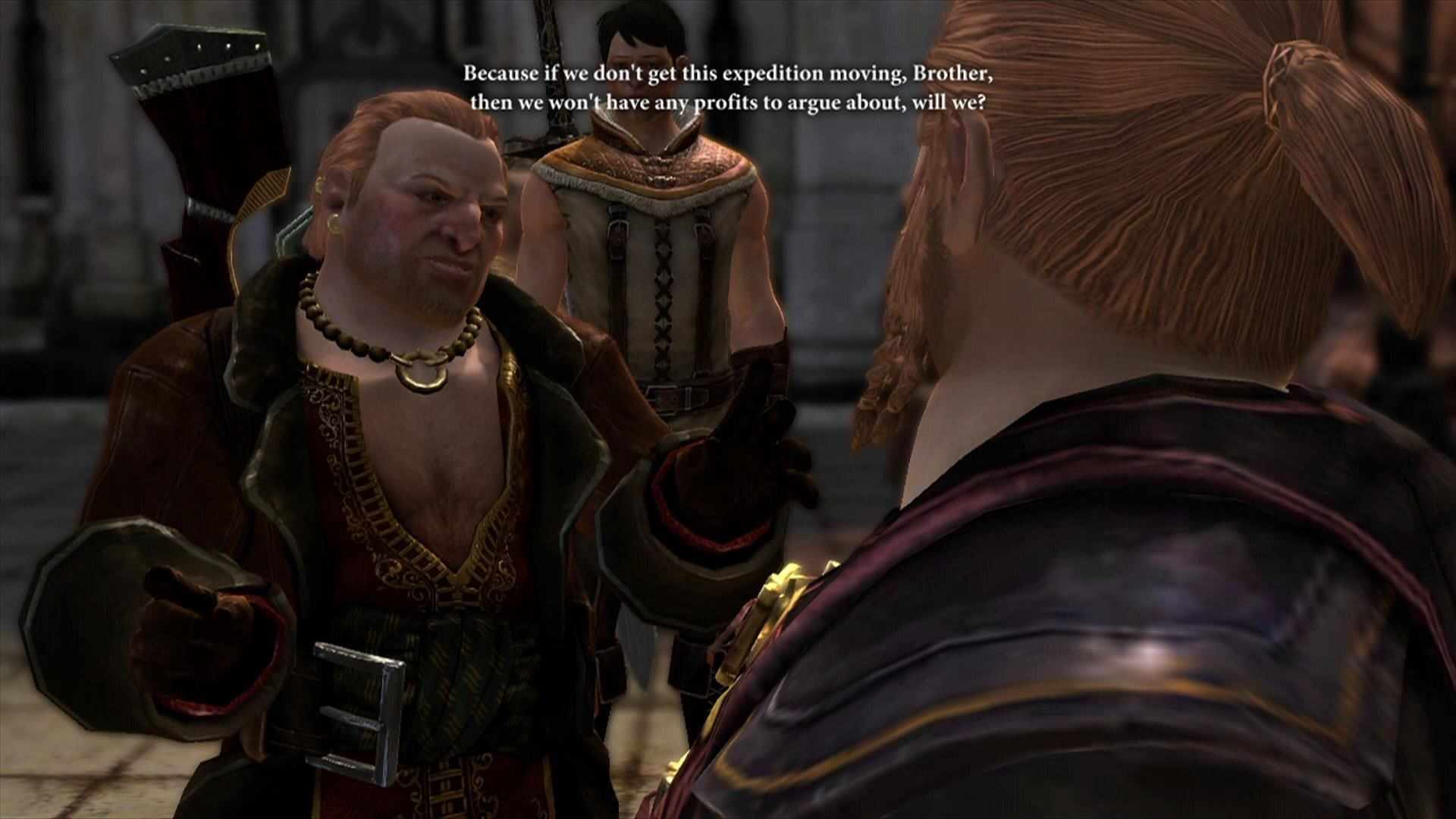 Dragon Age II Xbox 360 Varric deals with his brother