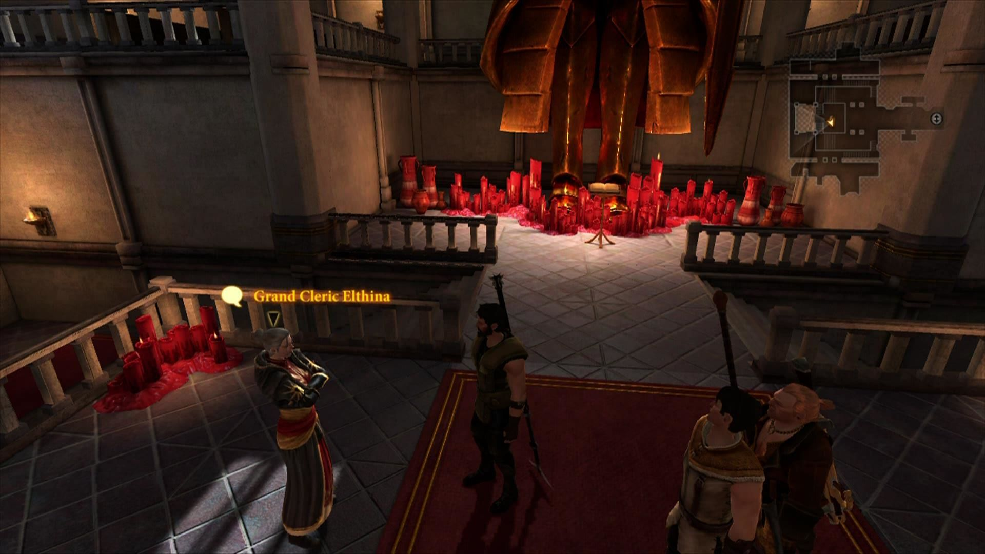 Dragon Age II Xbox 360 The Chantry of Kirkwall