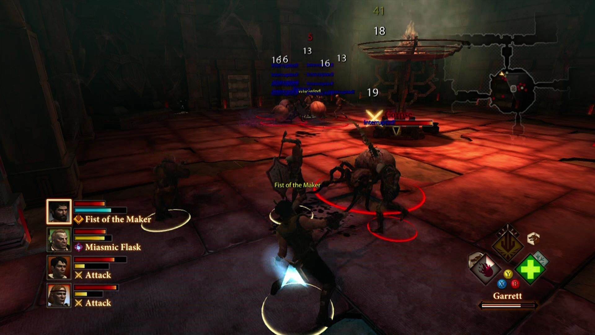 Dragon Age II Xbox 360 Another repeating dungeon layout