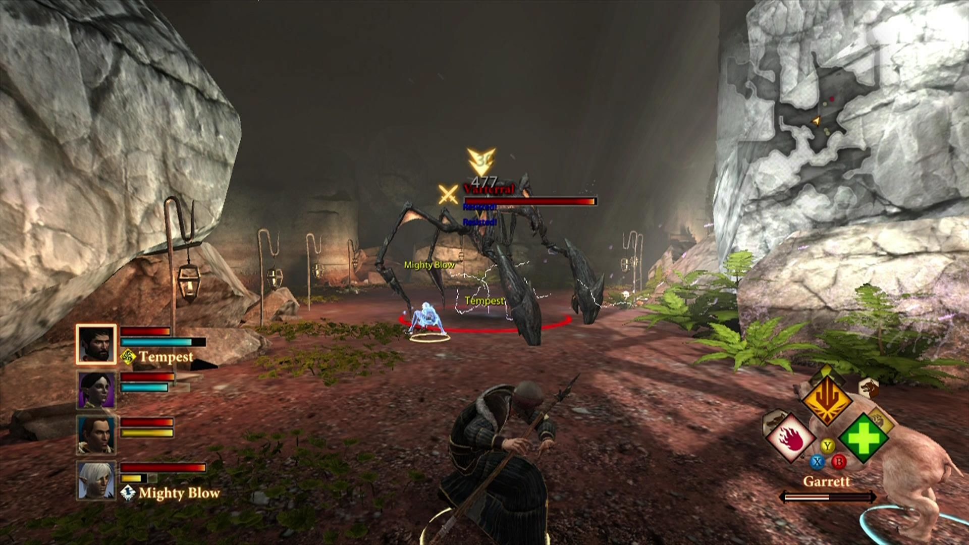 Dragon Age II Xbox 360 The Vartteral is a formidable enemy .. do not underestimate it