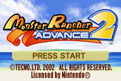 Monster Rancher Advance 2 Game Boy Advance Monster Rancher Advance 2