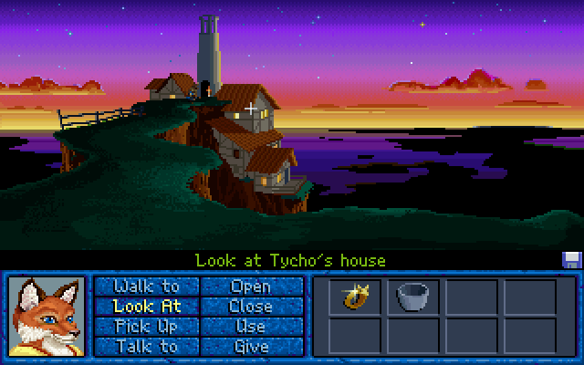 Inherit the Earth: Quest for the Orb DOS An amazing view