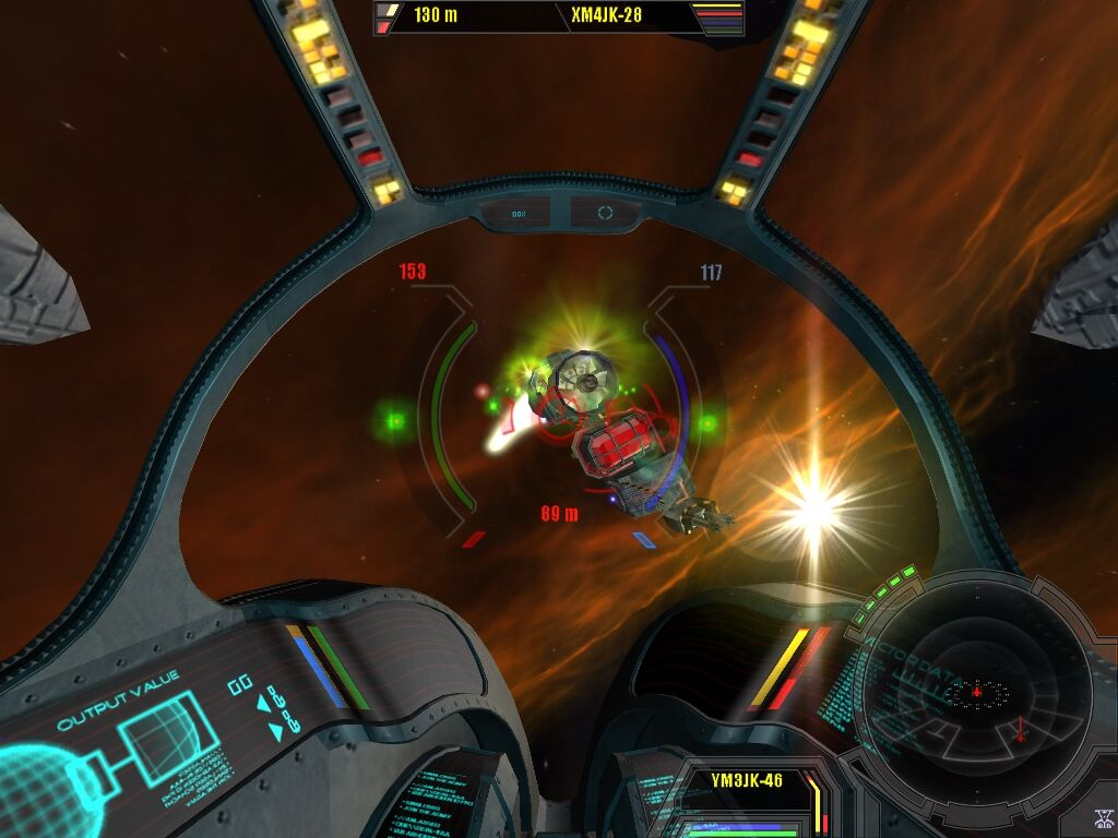 X²: The Threat Windows Battling your enemies can be difficult depending how many ships there are