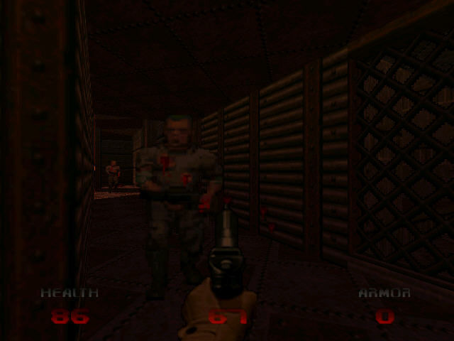 DOOM 64 Nintendo 64 Close combat