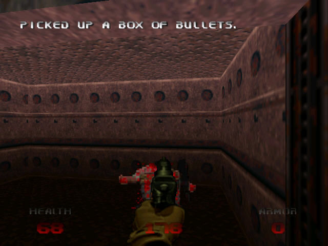 DOOM 64 Nintendo 64 Making dead corpse is always fun
