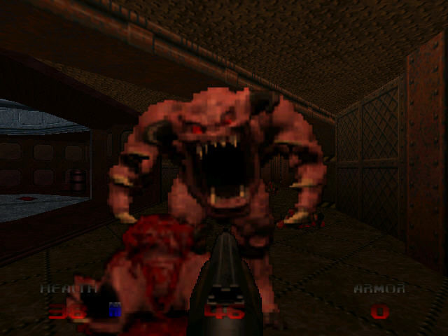 DOOM 64 Nintendo 64 Nice teeth