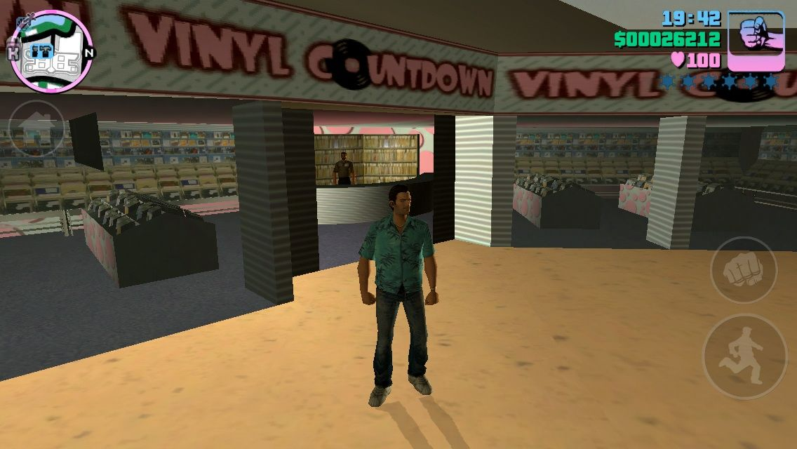 Grand Theft Auto: Vice City iPhone 80's records and cassettes