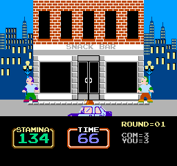 Urban Champion NES Look innocent when the cops drive by