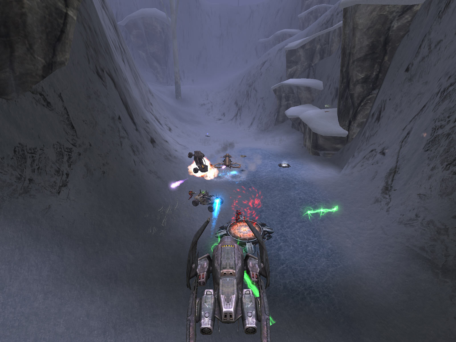 Unreal Tournament 2004 Windows Massacre by vehicles