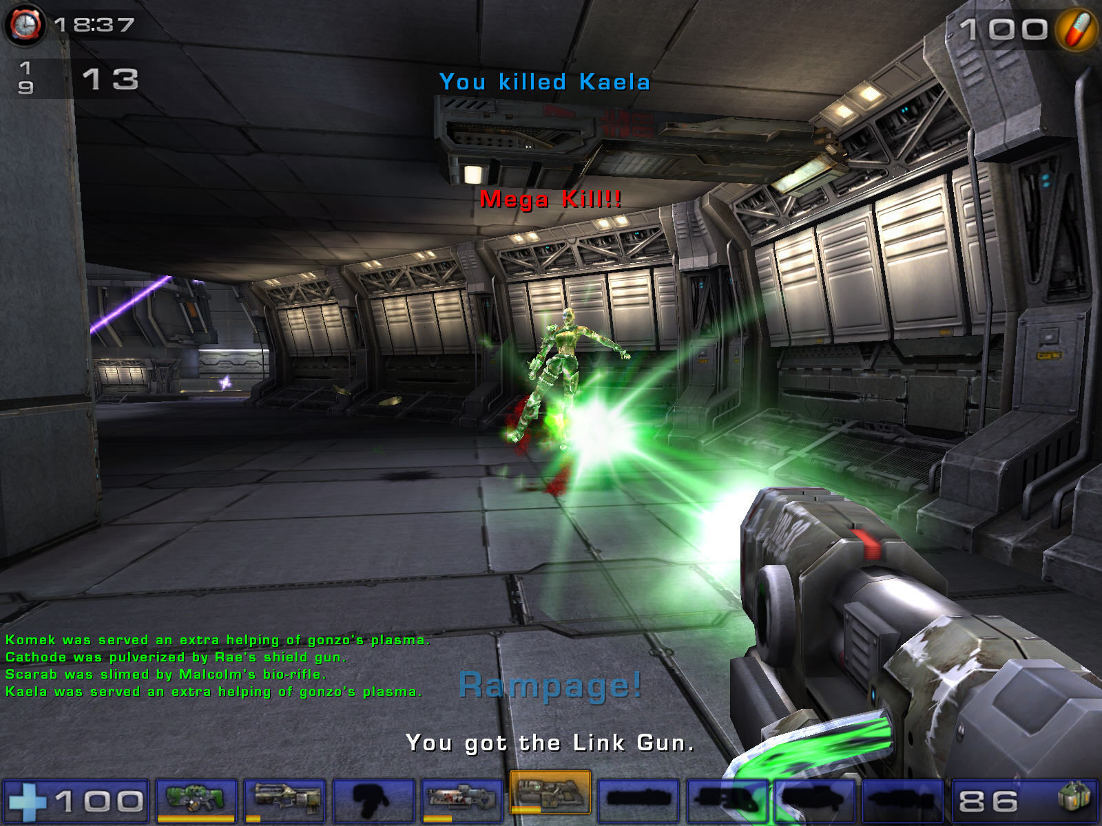 Unreal Tournament 2004 Windows Metallic map