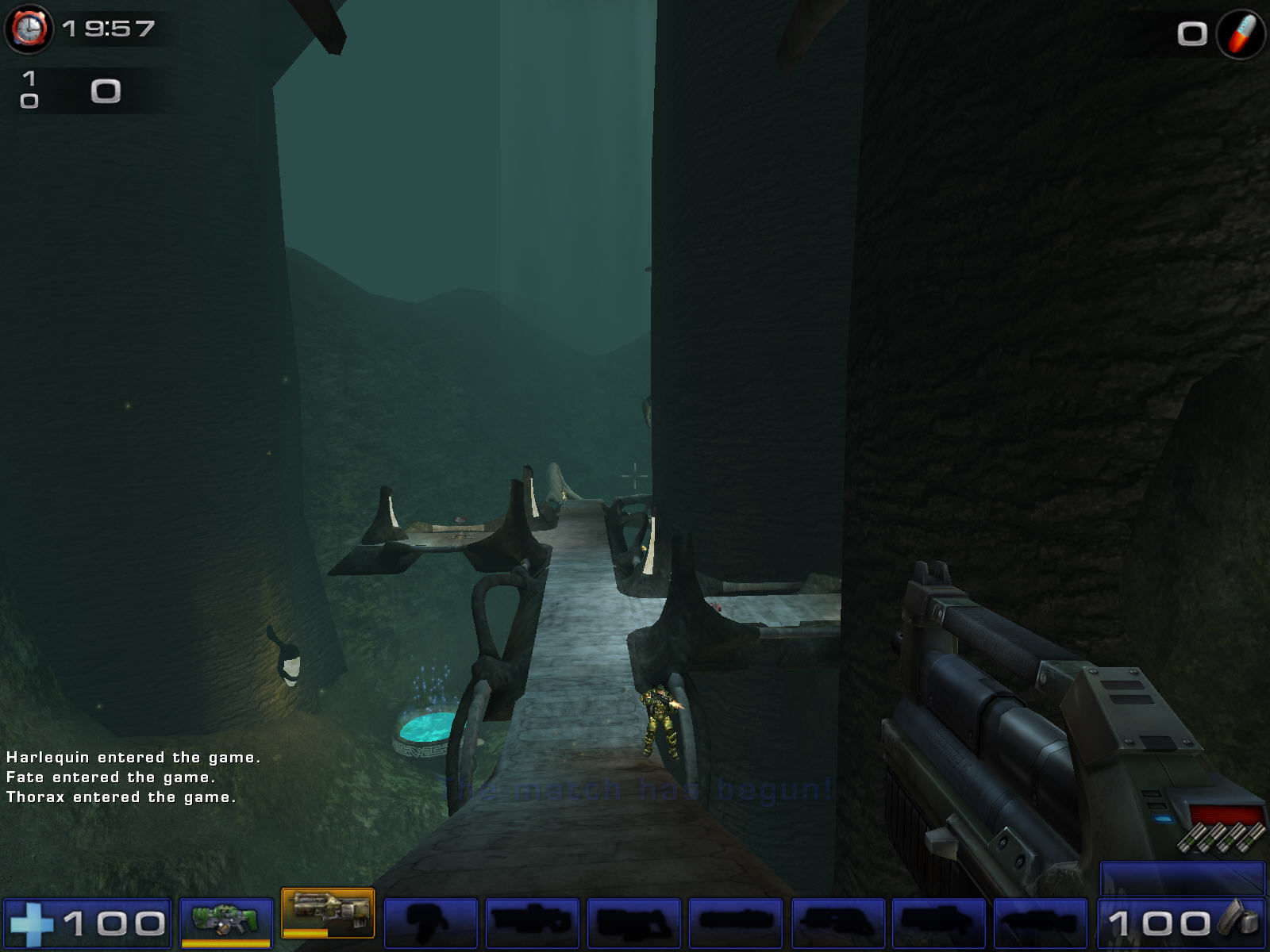 Unreal Tournament 2004 Windows Creepy place