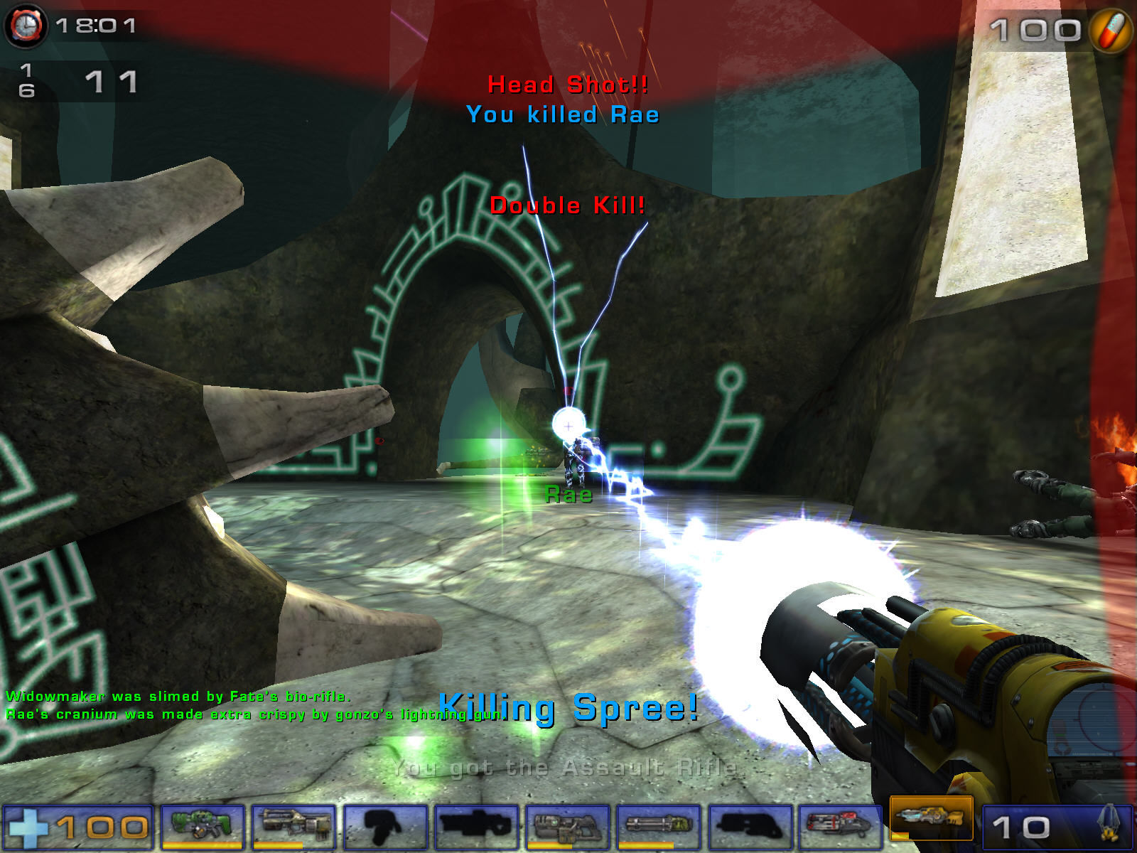 Unreal Tournament 2004 Windows Flash of dead