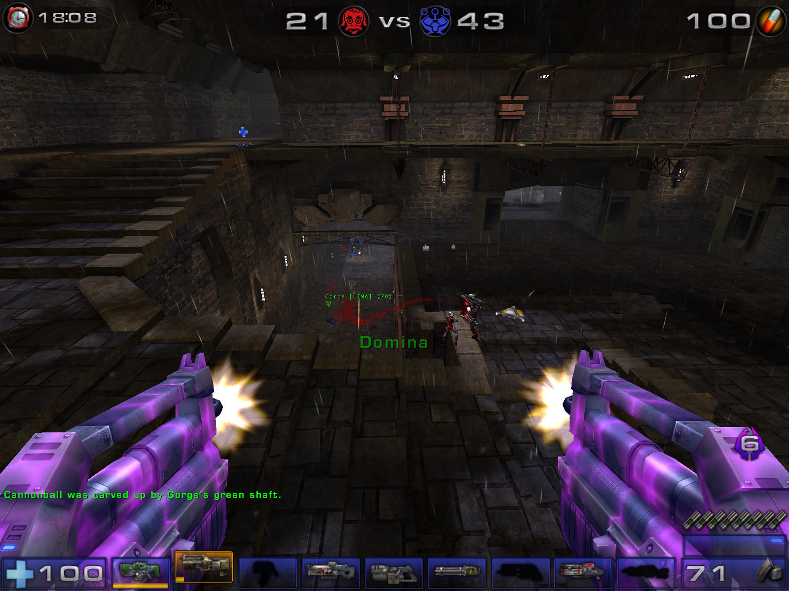 Unreal Tournament 2004 Windows Double damage... stunning