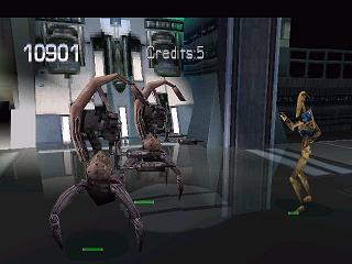 Star Wars: Episode I - Jedi Power Battles PlayStation Droidekas