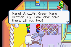 Mario & Luigi: Superstar Saga Game Boy Advance Luigi the lesser-known