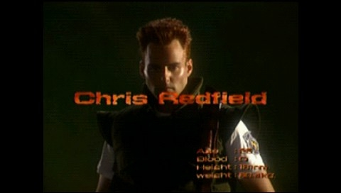 Resident Evil: Director's Cut PSP Intro: meet Chris