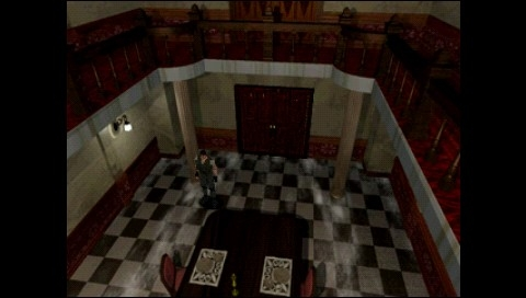Resident Evil: Director's Cut PSP The dining hall