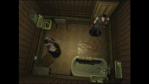 Resident Evil: Director's Cut PSP Ah, sorry, didn't know the toilet was occupied
