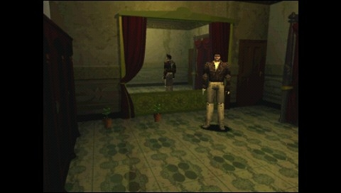 Resident Evil: Director's Cut PSP Chris changes his costume