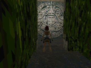 Tomb Raider PlayStation Aztec's calendar?