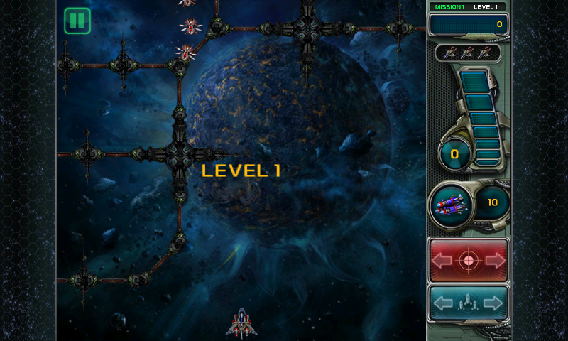 Star Defender III Android Starting out