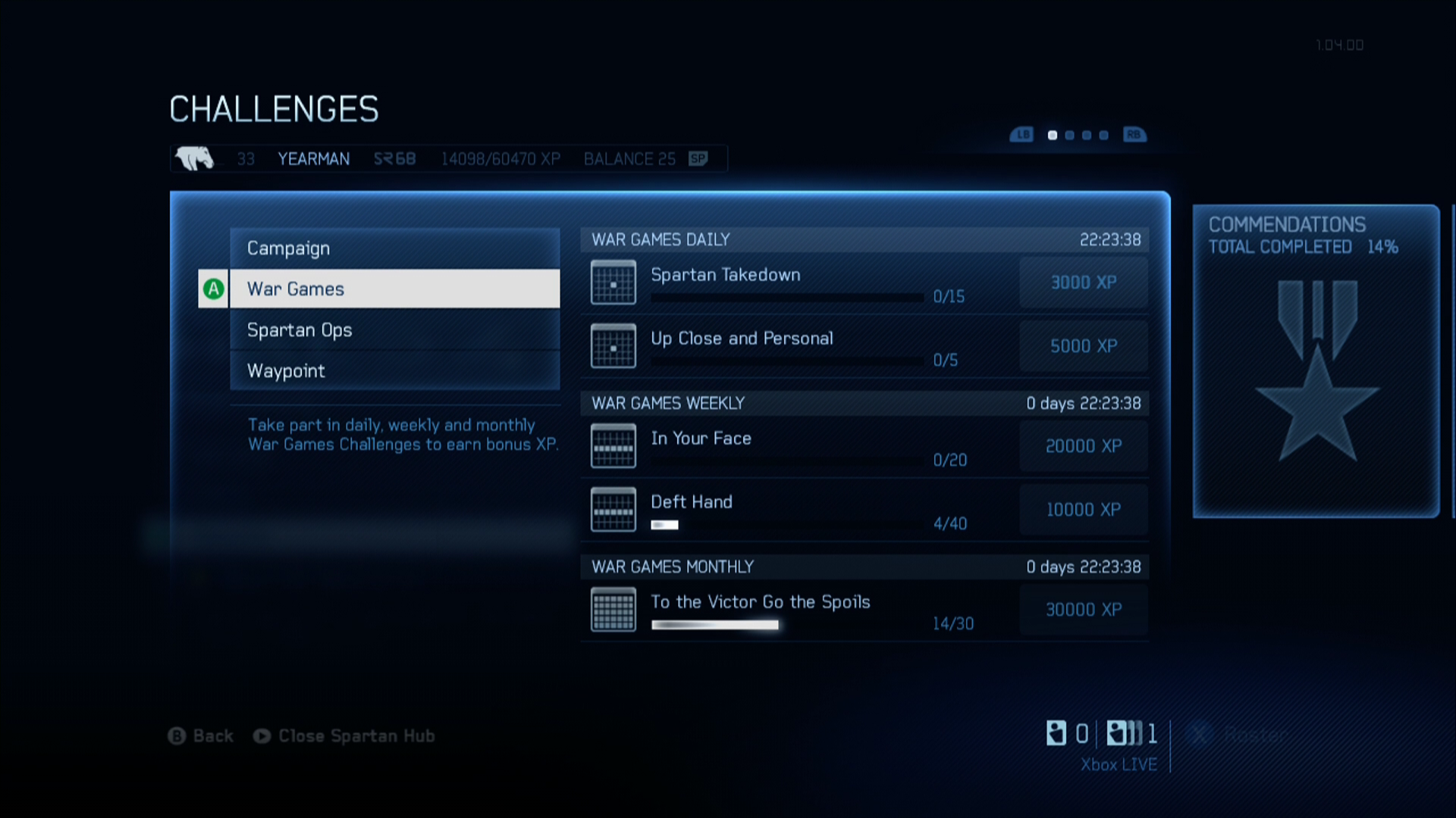 Halo 4 Xbox 360 The game also features a challenge system like <i>Halo: Reach</i>.
