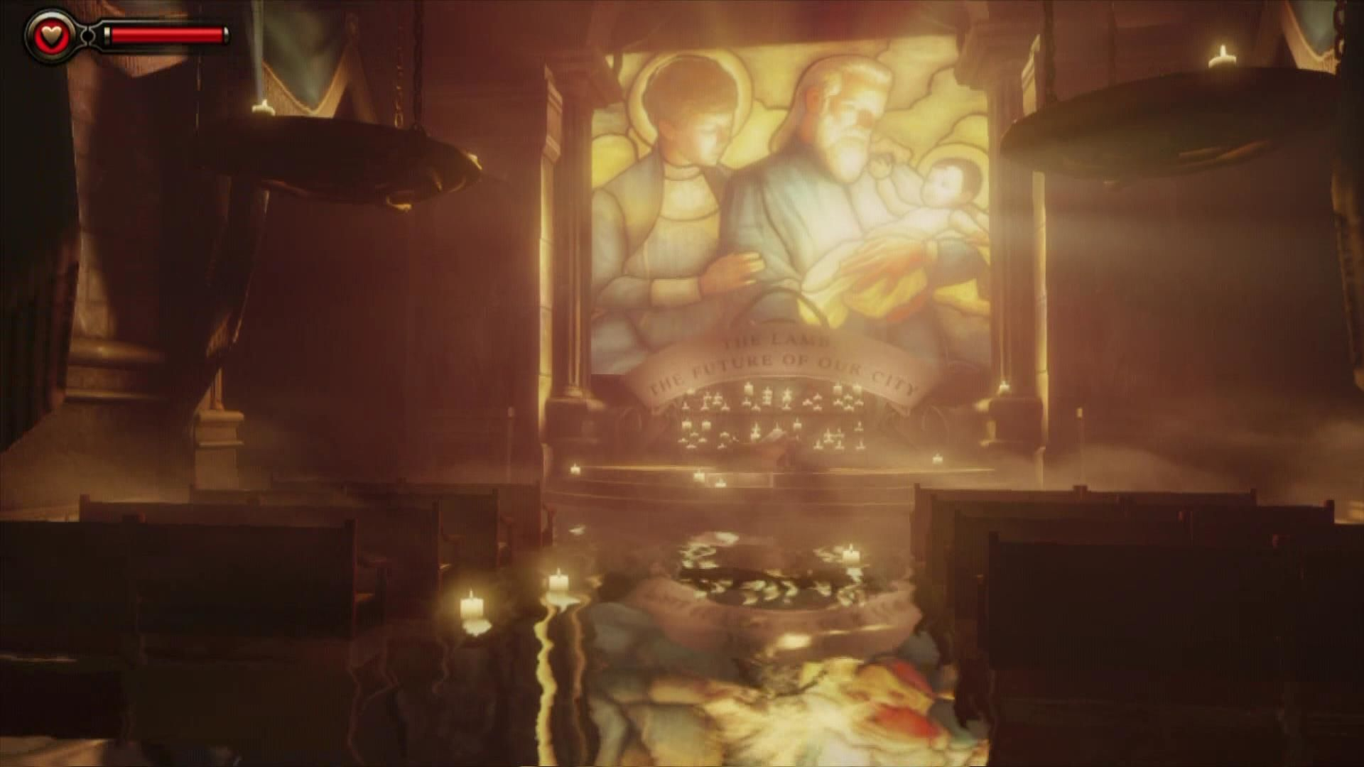 BioShock Infinite Xbox 360 You arrive in a chapel.