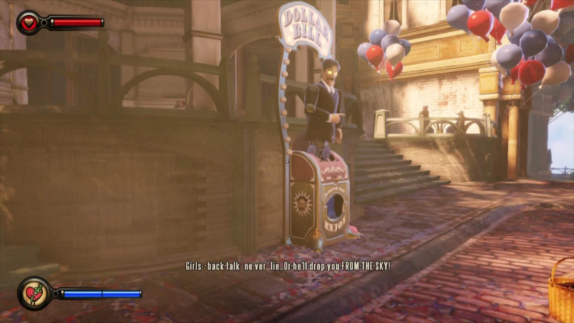BioShock Infinite Xbox 360 A vending machine at your purpose