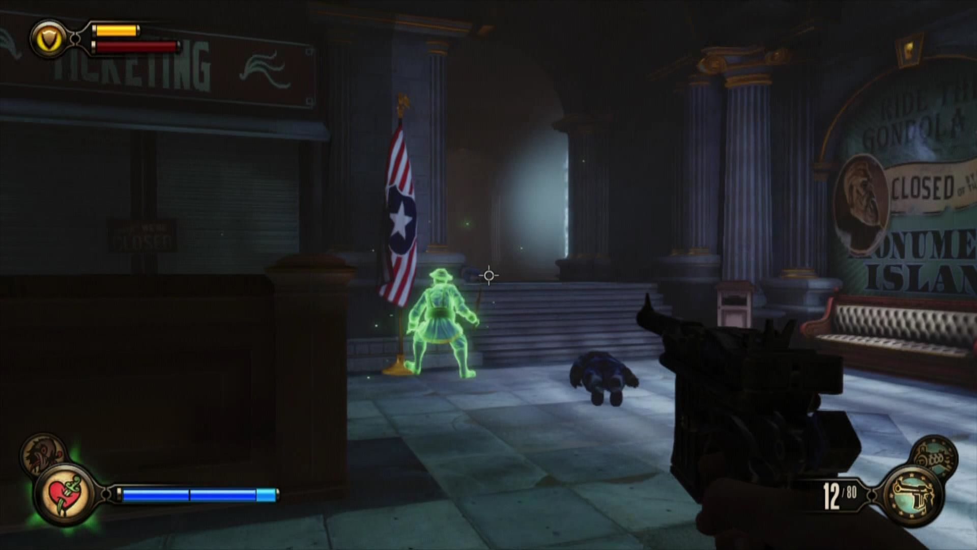 BioShock Infinite Xbox 360 You used your possession vigor to turn this enemy to your side temporarily.