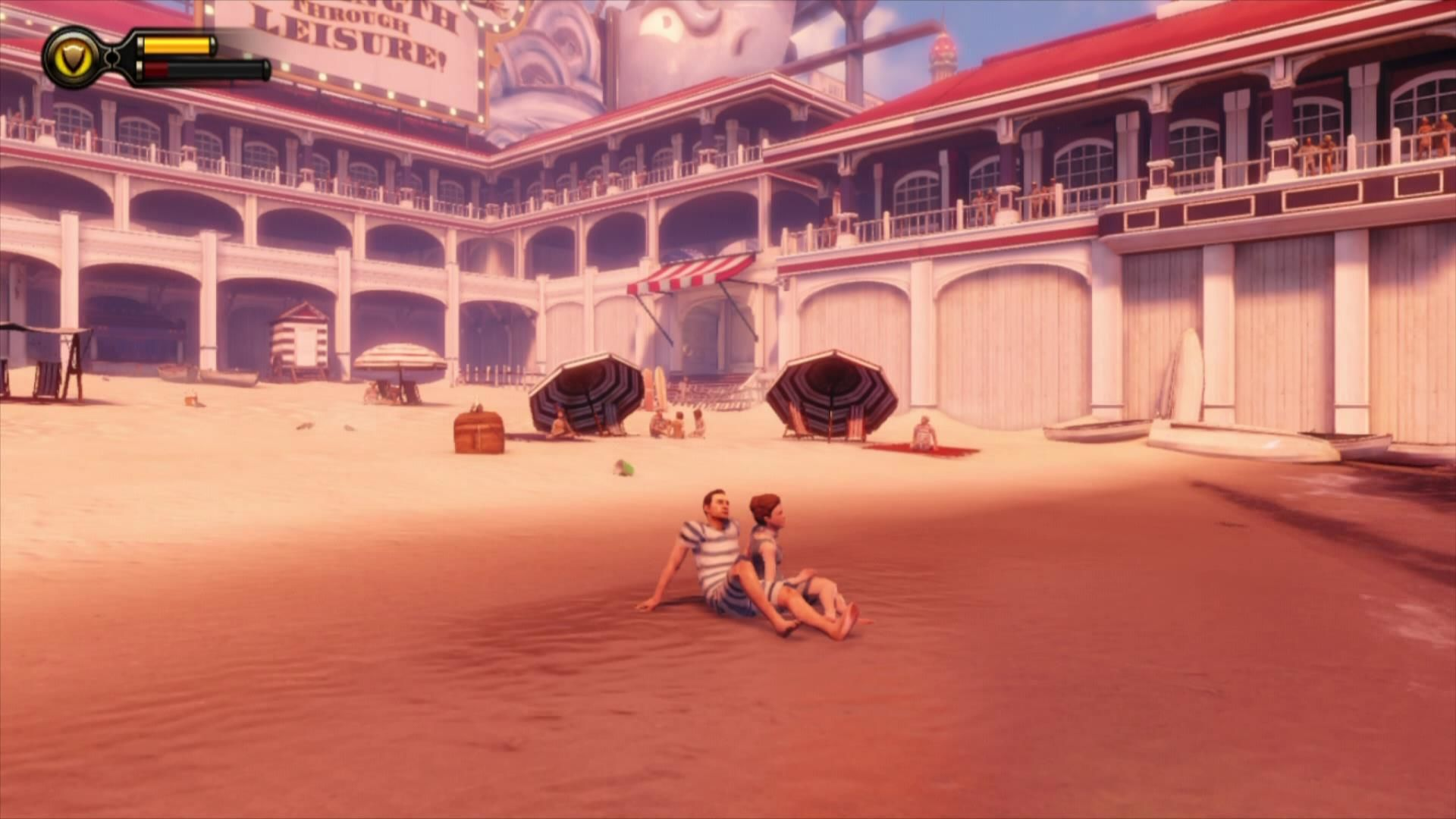 BioShock Infinite Xbox 360 A beach in Columbia?