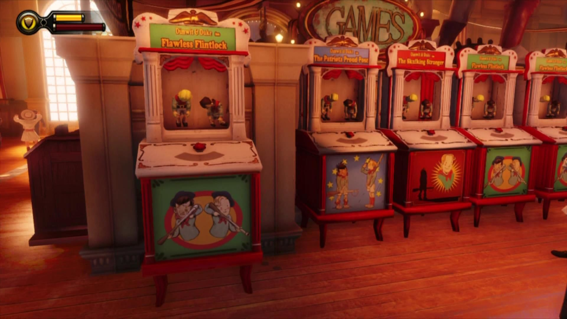 BioShock Infinite Xbox 360 Dimwit & Duke machines