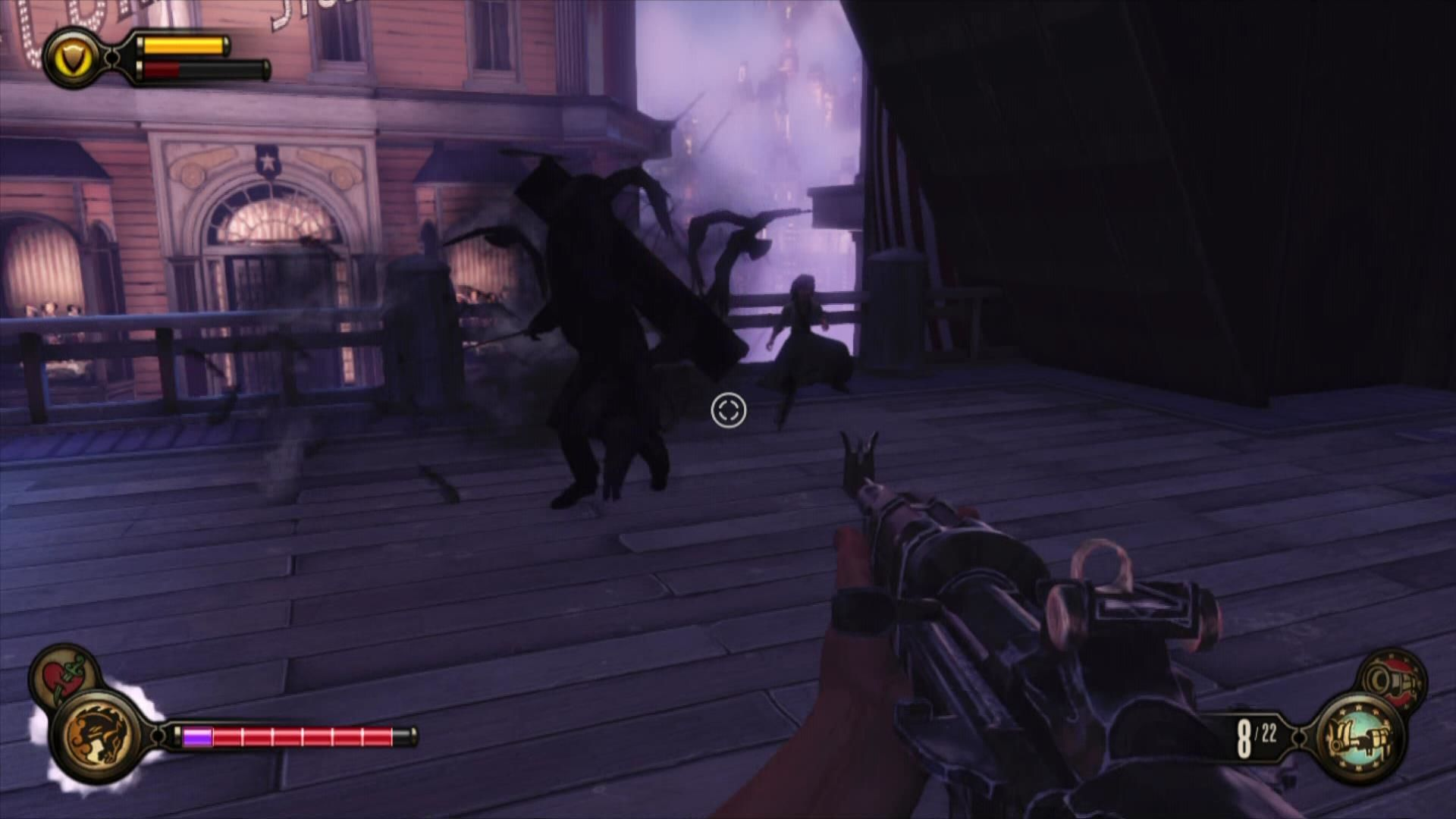BioShock Infinite Xbox 360 Beware if you see a flock of crows.