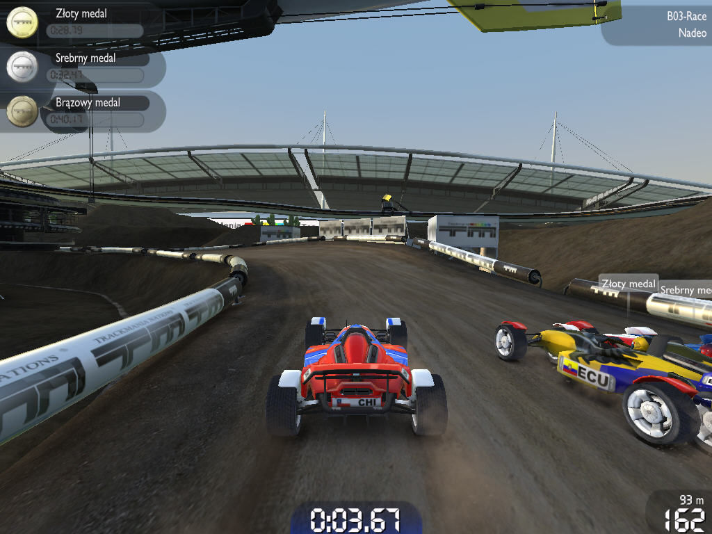 TrackMania Nations Forever Windows Race starts!